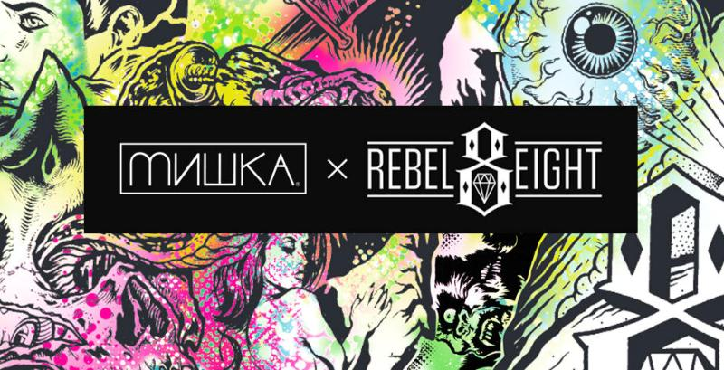 MISHKA ミシカ REBEL8 レベルエイト STREETWISE ストリートワイズ 神奈川 湘南 藤沢 スケート ファッション ストリートファッション ストリートブランド