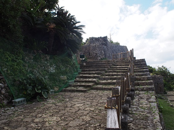 南の郭石段1