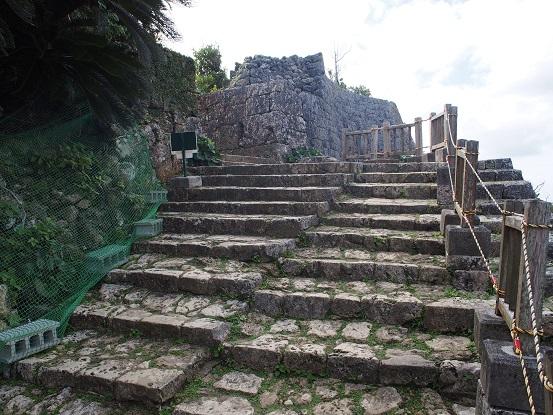 南の郭石段2
