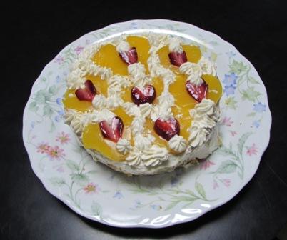 マミィ作のケーキ