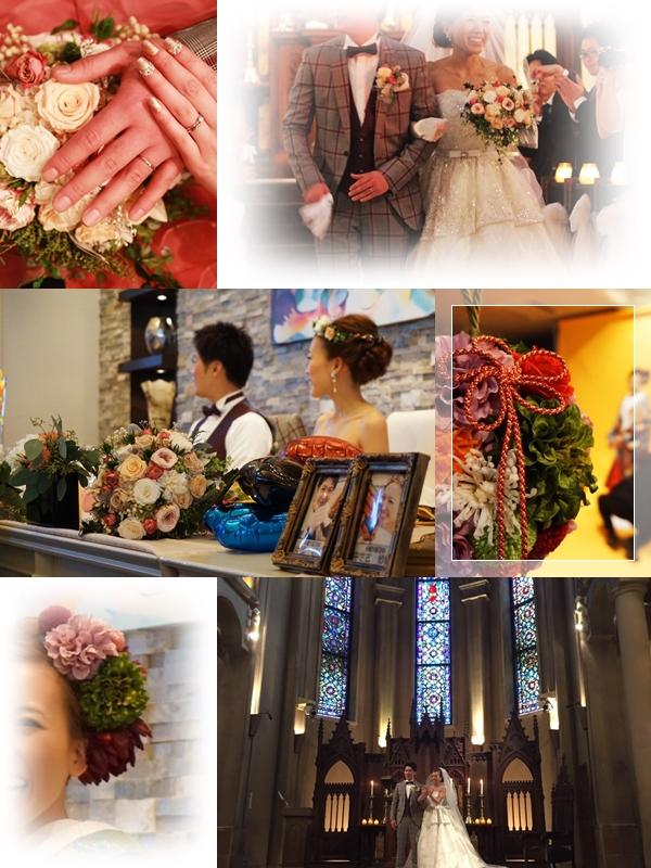 orderブーケ 結婚式2015 12