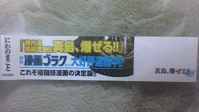 陣内流柔術流浪伝 真島、爆ぜる!! 8巻 帯B