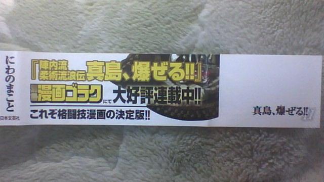 陣内流柔術流浪伝 真島、爆ぜる!! 11巻 帯B