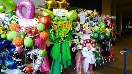 プリライ5thStage入り口の花 (3)
