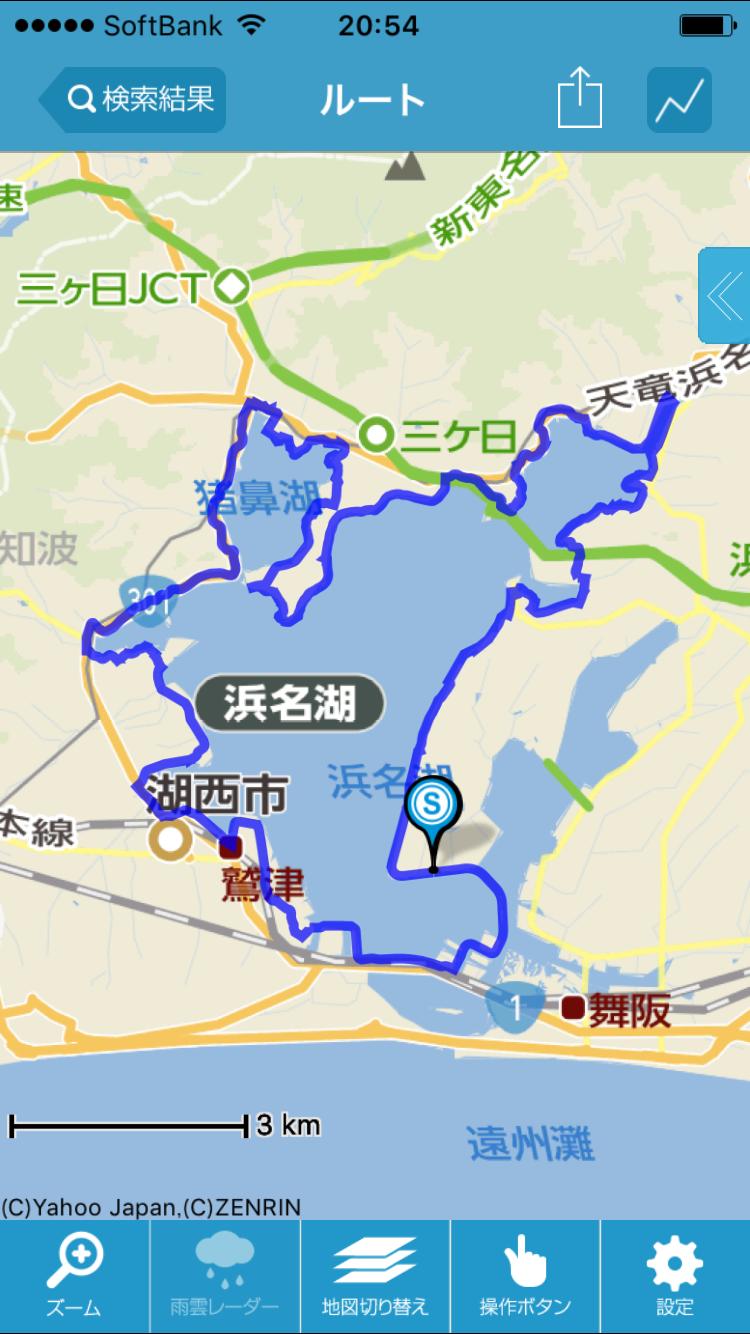 浜名湖一周70km