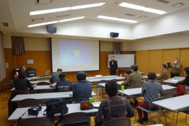 文化教養部福田部長の開会の挨拶