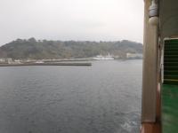 桜島を出港160201