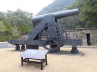 レプリカ150ポンド砲160201