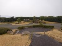 仙巌園の日本庭園160201