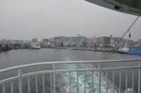 鹿児島を出港160201