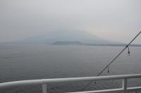 桜島は霞んでる160201