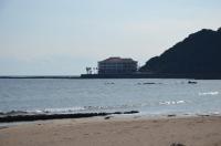 岬にホテル建ってた160203