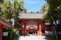 青島神社門160203