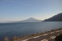 桜島が見えてきた160203