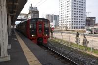 門司港行き普通電車に乗り換え160204