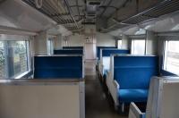 クハネ581寝台電車座席160204