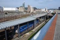 九州鉄道記念館を出る160204
