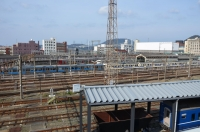 九州鉄道記念館から関門大橋160204