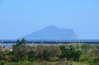 蘭海から見た龜山島160209