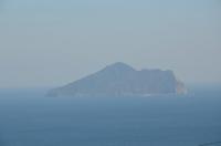金車からの龜山島160209
