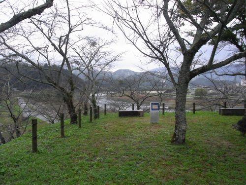 大洲城12玉櫓跡