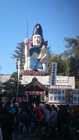 大前神社の恵比寿様2016元旦