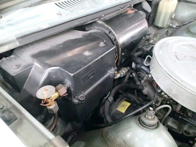 いすゞジェミニ ヒーター修理