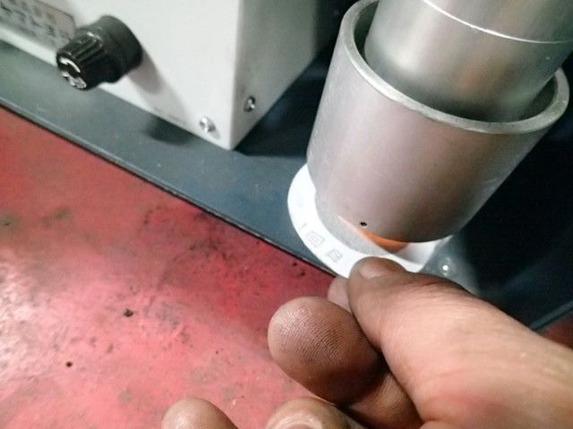三菱パジェロ オイル漏れ修理