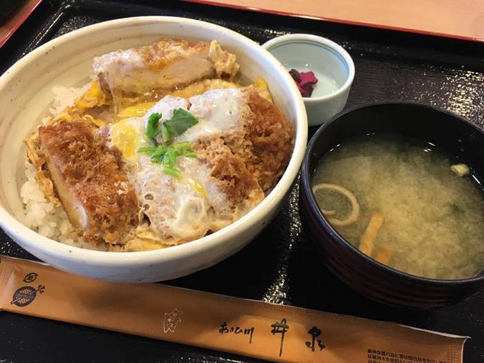 あさひ川井泉カツ丼