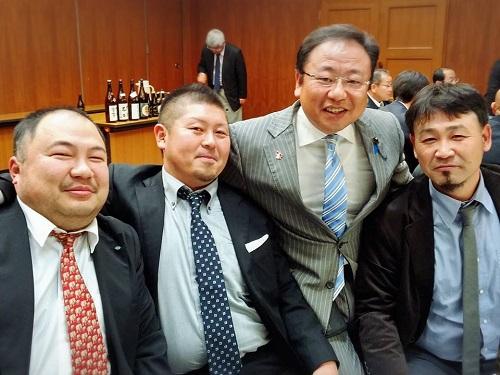 栃木県交通運輸産業労働組合協議会≪新春旗開き≫にて!