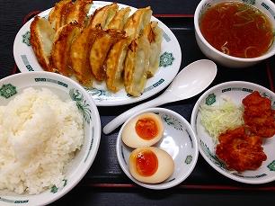0930日高屋@餃子定食
