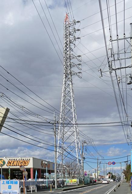 上福岡線8号鉄塔