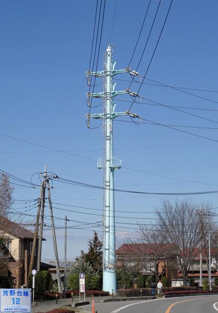 芳野台線12号鉄塔
