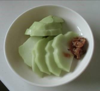ハヤトウリと味噌