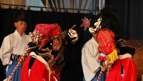 阿刀神楽団 天の岩戸の舞2