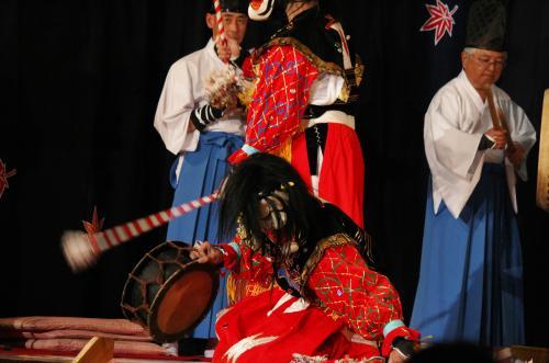 阿刀神楽団 天の岩戸の舞3
