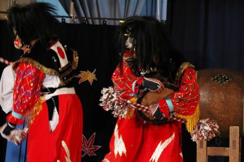 阿刀神楽団 天の岩戸の舞4