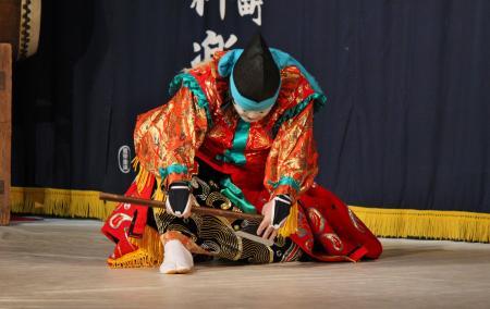 阿刀神楽団 天の岩戸の舞8