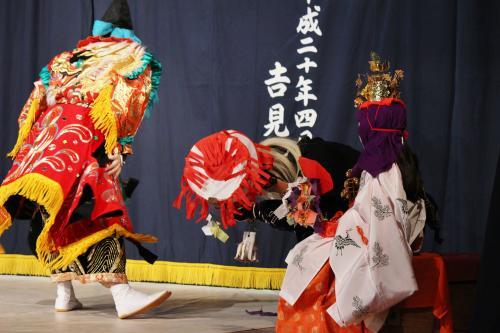 阿刀神楽団 天の岩戸の舞9