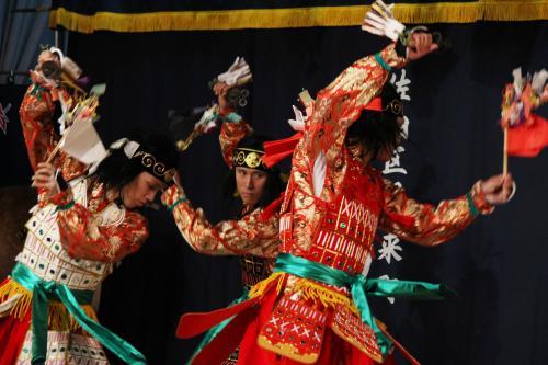 阿刀神楽団 八つ花の舞1