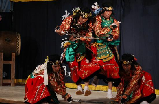 阿刀神楽団 八つ花の舞3