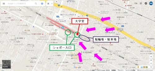 大学堂・市川駅周辺Gmap