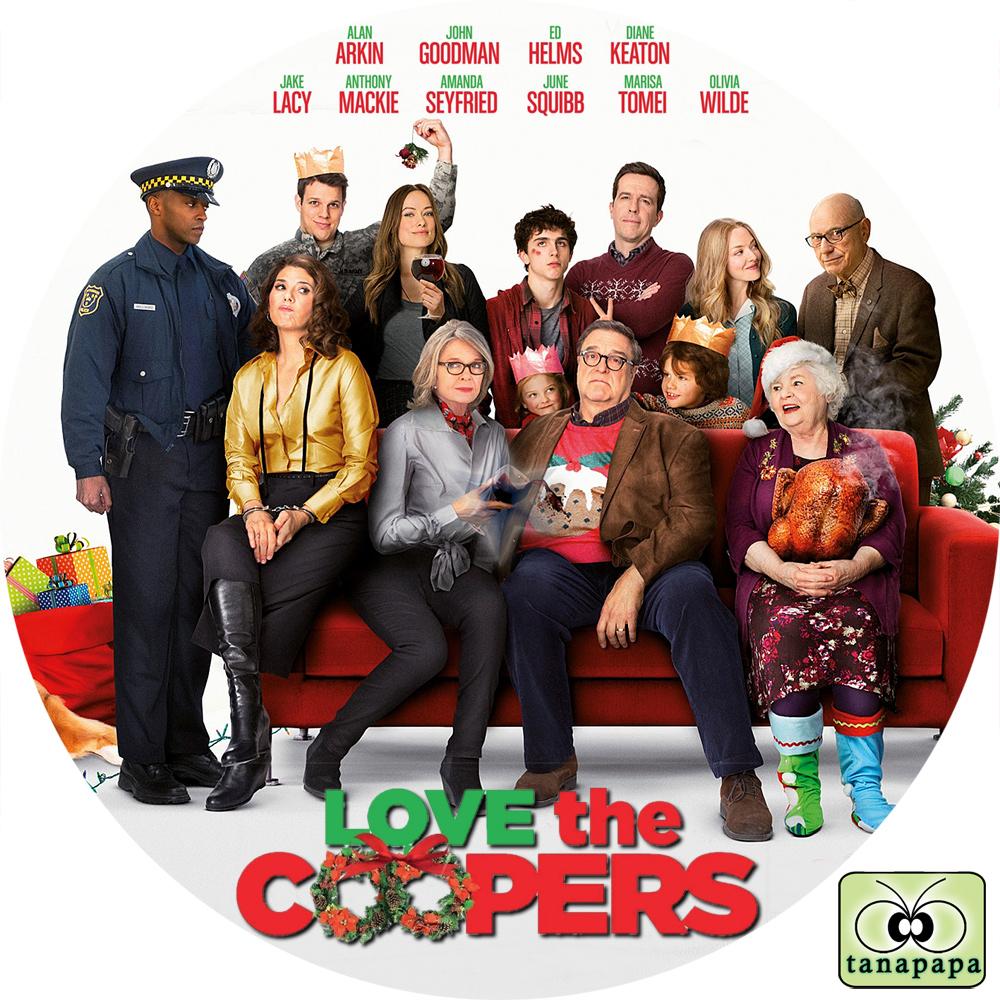 tanapapa 自作ラベル保管庫クーパー家の晩餐会 ~ LOVE THE COOPERS ~トラックバックURL
