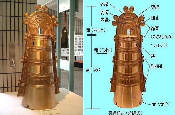 2016-3-13日本最大の銅鐸レプリカ