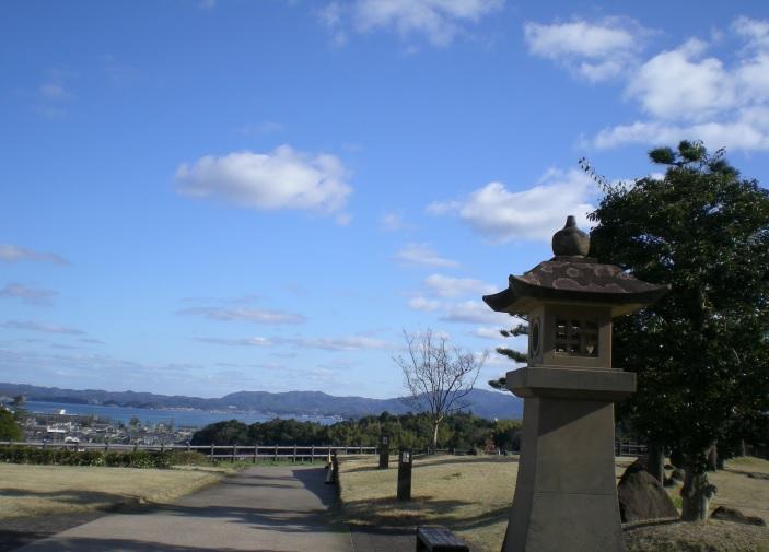 2016-3-22宍道湖SAより島根半島を望む2