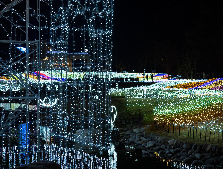 国営アルプスあずみの公園 夜景 3