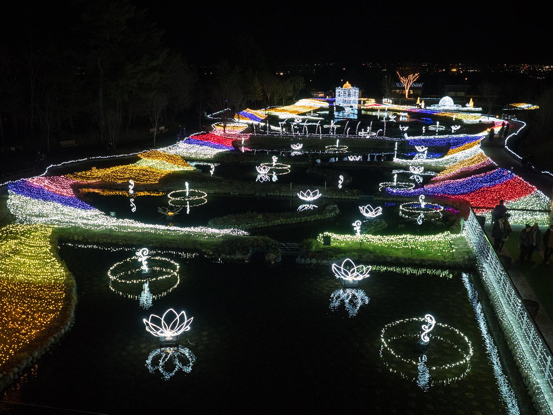 国営アルプスあずみの公園 夜景 1