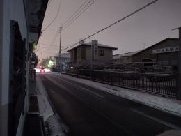 160126_01夕方の道路