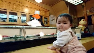 寿司屋カウンターデビュー (400x225)