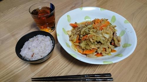 煮込みジンギスカンとお粥 (500x281)